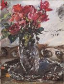 "Lovis Corinth. ""Rote Rosen"". 1925"