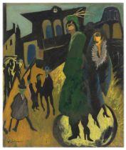 Will Grohmann. Frauen am Potsdamer Platz. Nach 1929