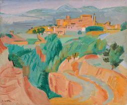 """André Lhote. """"Roussillon (Vaucluse)"""". Um 1940"""