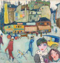 Hanns Bolz. Montmartre. Um 1910/12