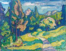 """Walter Helbig. """"Landschaft"""". 1912"""