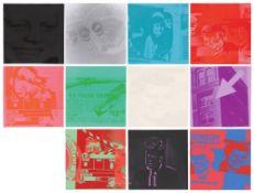 """Andy Warhol. """"Flash - November 22, 1963"""". 1968"""