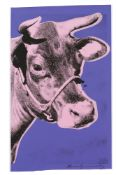 "Andy Warhol. ""Cow 1976"". 1977"