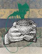 """Sigmar Polke. """"S.H.– oder wann zählen die Punkte"""". 2002"""