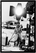 Peter Lindbergh. Anna Nicole Smith, El Mirage, California. 1995