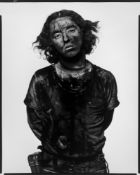 """Richard Avedon. Book: """"In the American West"""" with photograph: """"James Story, coal miner, Somerset,…."""