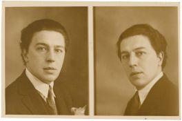 Ateliers Jerome Paris. André Breton. Double Portrait. 1927
