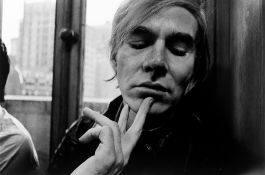 """Will McBride. """"Andy Warhol in der 'Factory', Union Square, New York"""". 1970"""