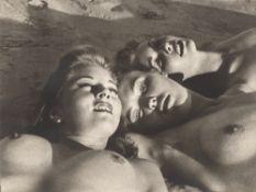 "William Mortensen (i.e.William Herbert Mortensen). ""On the Beach"". 1951"