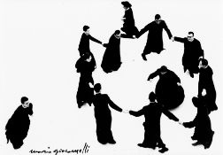 """Mario Giacomelli. From the series """"Io non ho mani che mi accarezzino il volto"""", 1961–1963."""