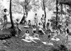 """F.C. Gundlach. """"Kandidatinnen der Miss Germany Wahl, Bielefeld"""". 1954"""