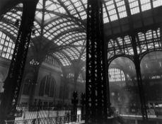 Berenice Abbott. Pennsylvania Station Interior, Manhattan, New York City, July 14. 1936