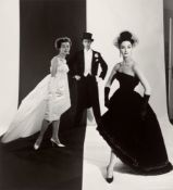 "F.C. Gundlach. ""Evening in Black and White. Modelle Horn, Berlin"". 1958"