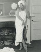 André de Dienes. Marilyn Monroe at the Bel Air Hotel in Beverly Hills. 1953