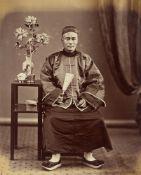 Lai Afong (i.e.Lai Ah Fong, Fang Lai, Li Fang, A'Fong Lai). A Compradore. 1870s