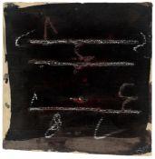 "Antoni Tàpies. ""Paralleles de Guix"". 1980"