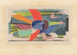 "Georges Braque. ""Oiseau multicolore"". Circa 1950"