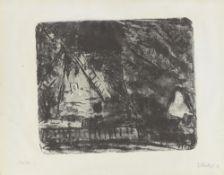 """Erich Heckel. """"Mühle"""". 1907"""