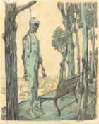 "George Grosz. ""Herberts Ruh"". 1912"