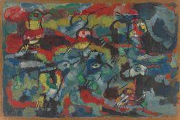 """Werner Scholz. """"Kolibris"""". 1955"""