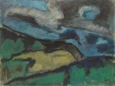 "Werner Scholz. ""Monte Baldo"". 1964"