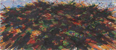 """Max Uhlig. """"Kleine Landschaftsformation, Lübkow-Krukow"""". 1976/83"""