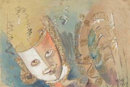Hannah Höch. Der maskierte Mensch. 1940