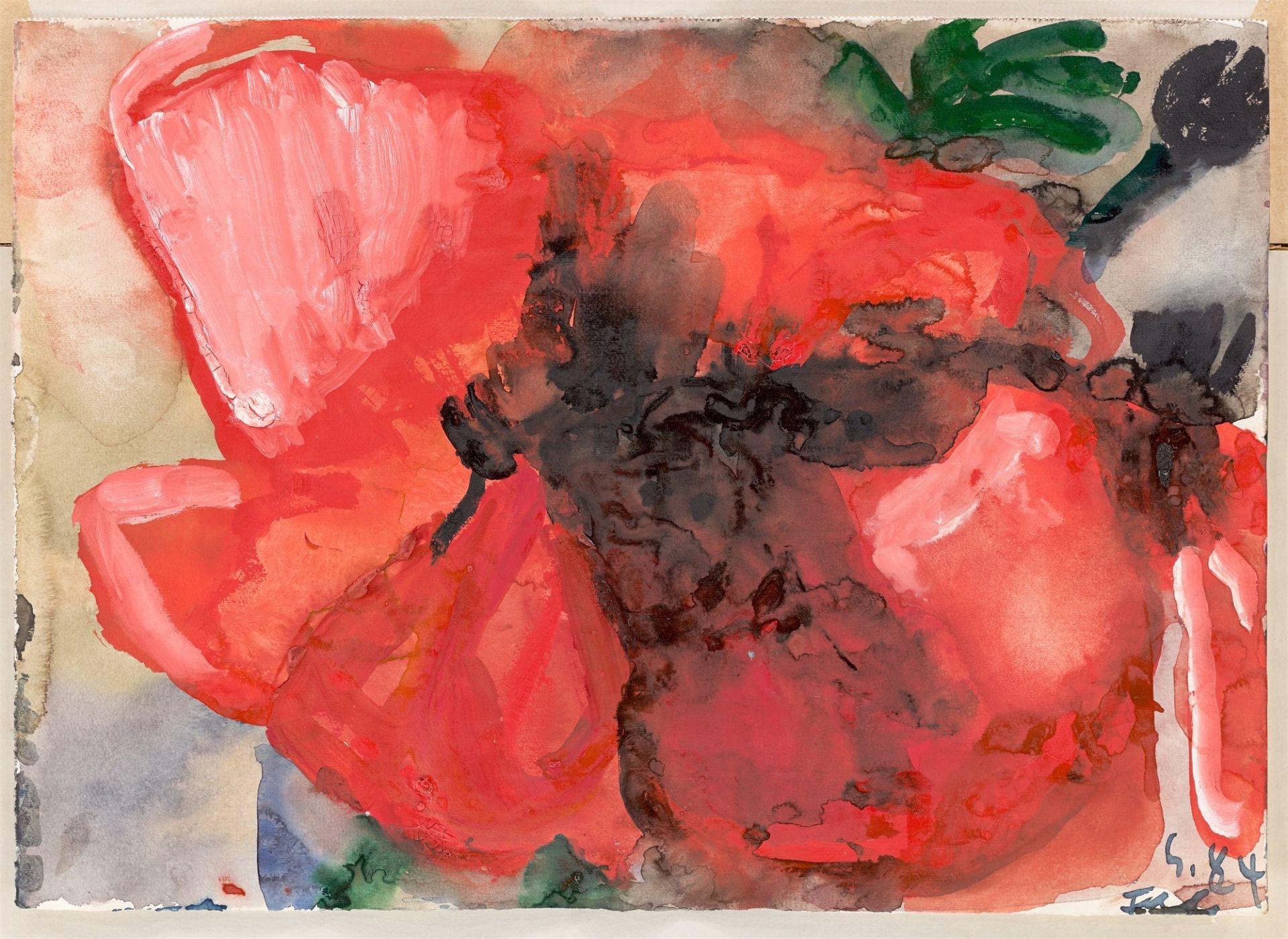 Klaus Fußmann. Poppy. 1984 - Image 2 of 4