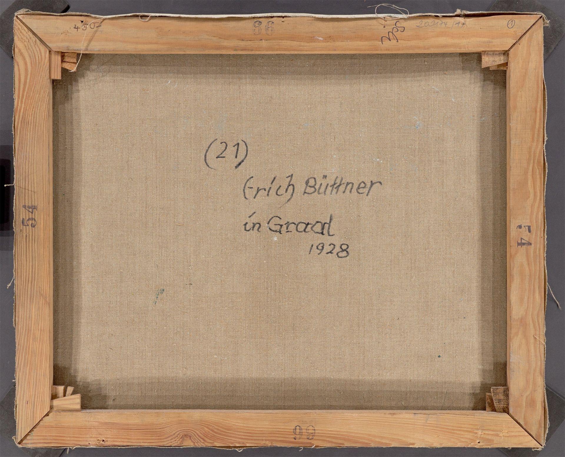 "Erich Büttner. ""Strand in Graal"". 1928 - Image 3 of 4"