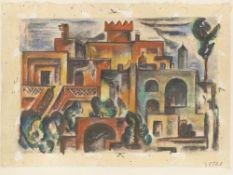 "Cesar Klein. ""Landschaft in Italien"". 1915"