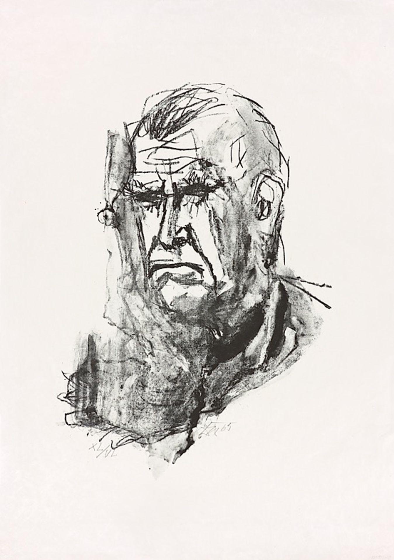 "Otto Dix. ""Großes Selbstbildnis"". 1965"
