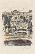 """Lovis Corinth. """"Sanssouci"""". 1922"""