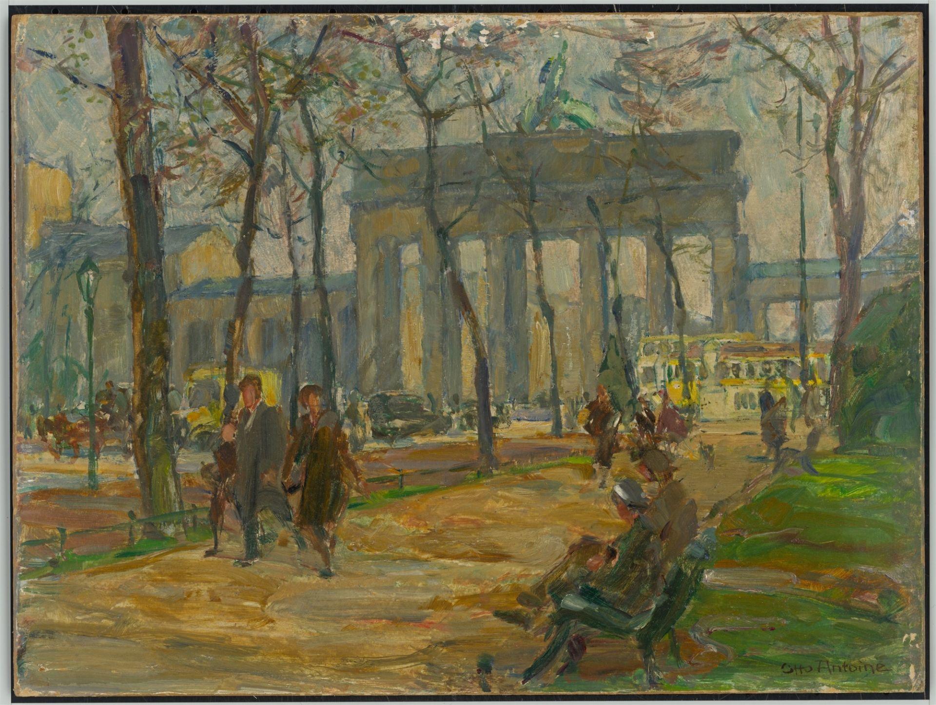 Otto Antoine. Brandenburg Gate. After 1928 - Image 2 of 4
