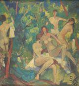 Erich A. Klauck. The sunbath. 1964