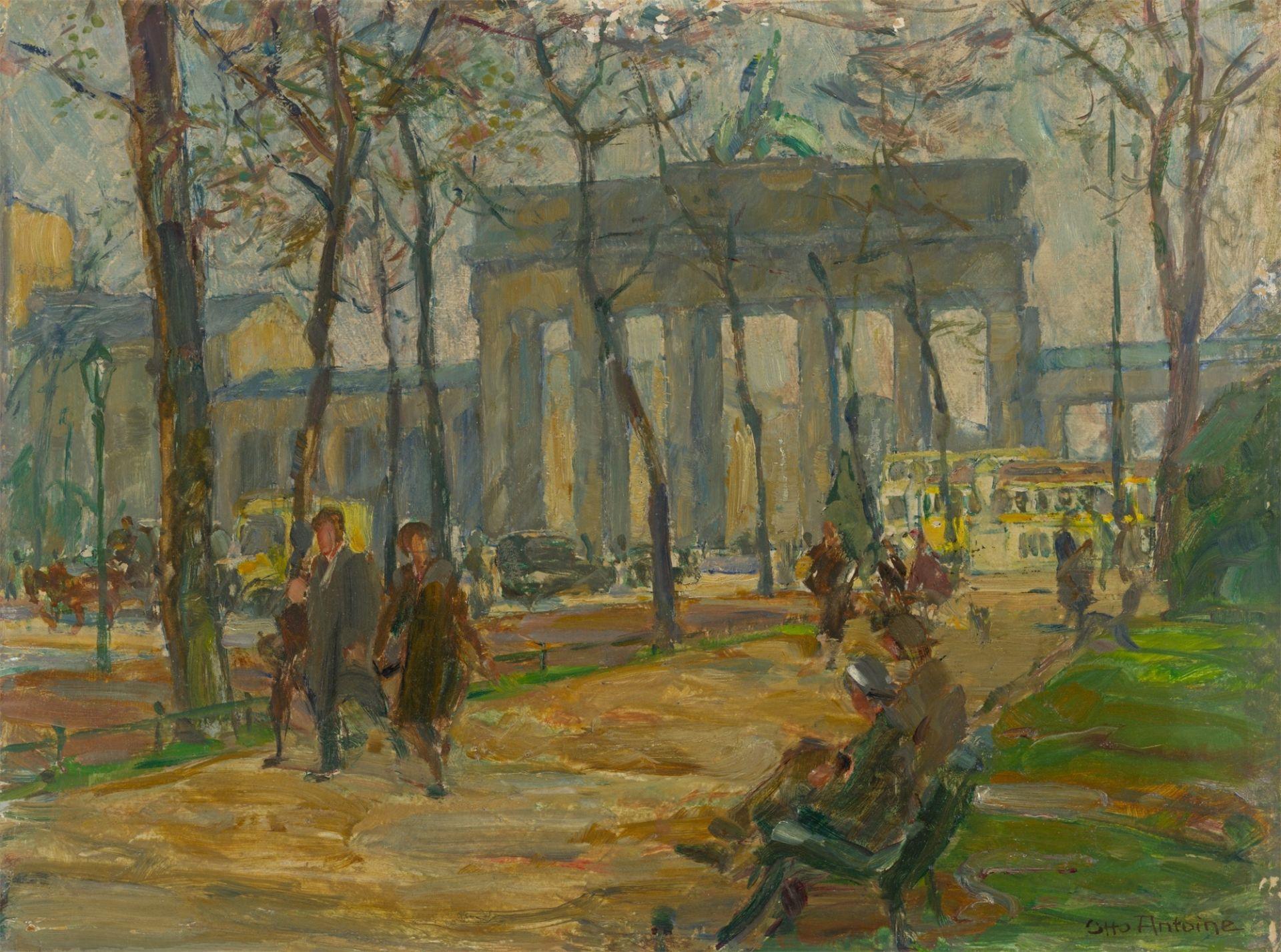 Otto Antoine. Brandenburg Gate. After 1928
