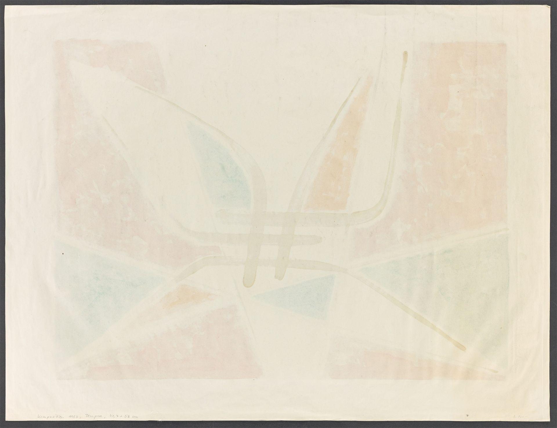 Heinrich Maria Davringhausen. Composition. 1953 - Image 3 of 4