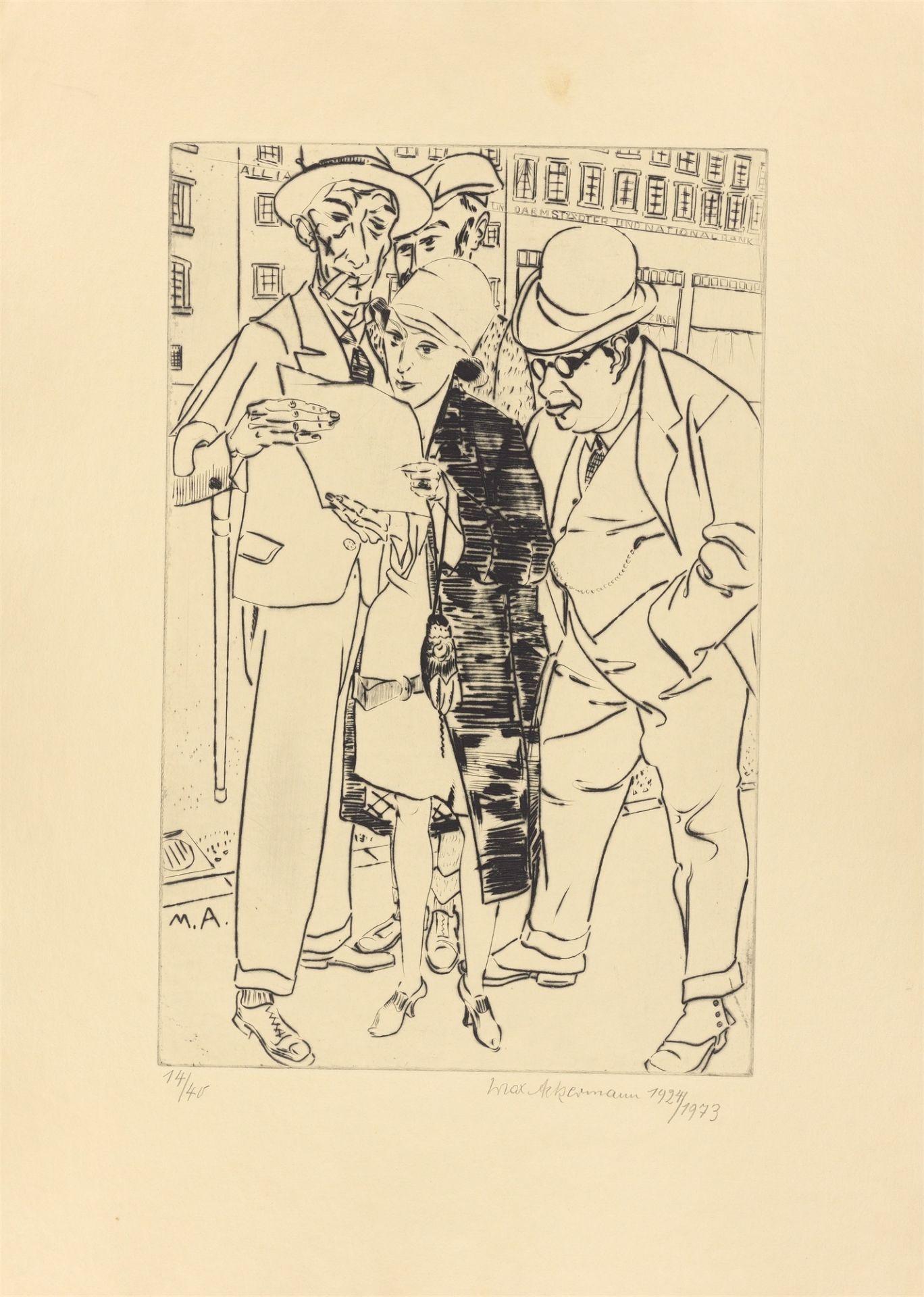 Max Ackermann. Special edition. 1924/73