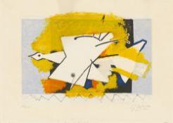 "Georges Braque. ""L'oiseau jaune"". 1959"