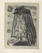 """Otto Dix. """"Witwe"""". 1957"""