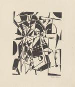 "Walter Dexel. ""Sternenbrücke (Abstrakte Komposition)"". 1919/21"