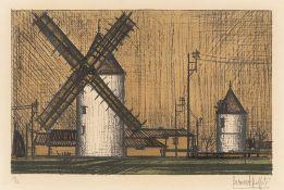 """Bernard Buffet. """"Les moulins"""". 1953"""