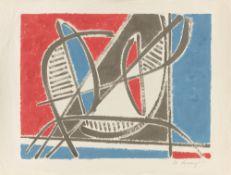 Heinrich Maria Davringhausen. Composition. 1955