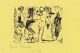 """Lyonel Feininger. """"Gespenster"""". 1919"""