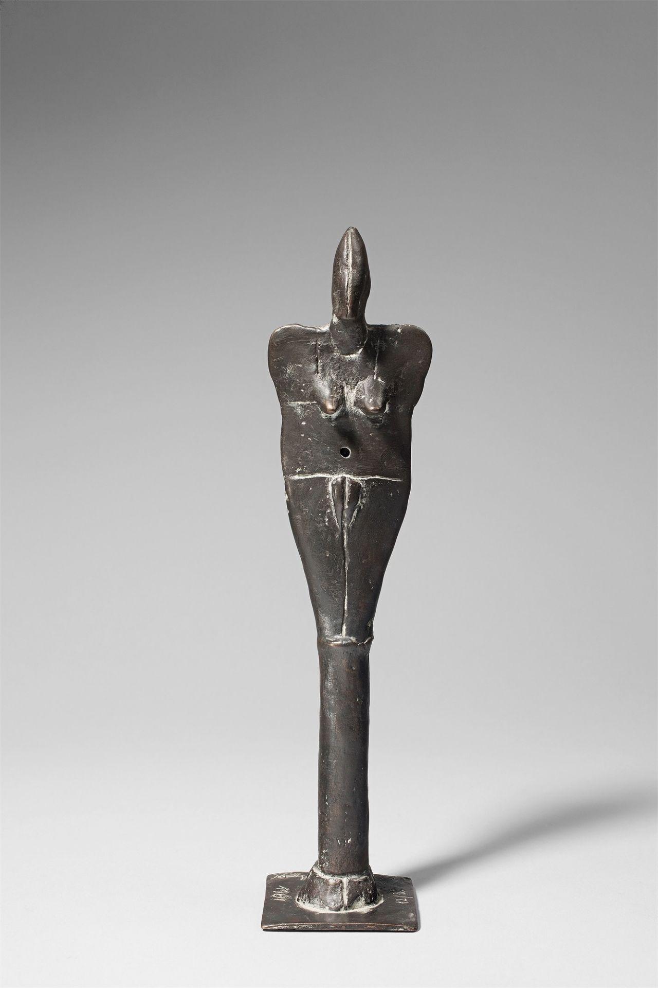 Lothar Fischer. Female stele. 1981