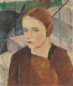 """Gertrud Elisabeth Ebert-Püttmann. """"Mädchenbildnis"""". 1921"""