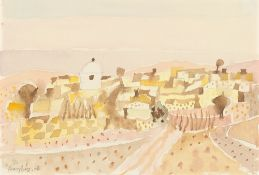 "Eduard Bargheer. ""Marokkanisches Bergdorf"". 1961"