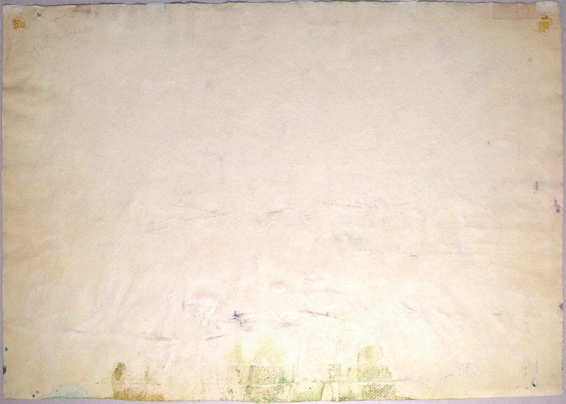 Josef Dobrowsky. River landscape. 1948 - Image 3 of 4
