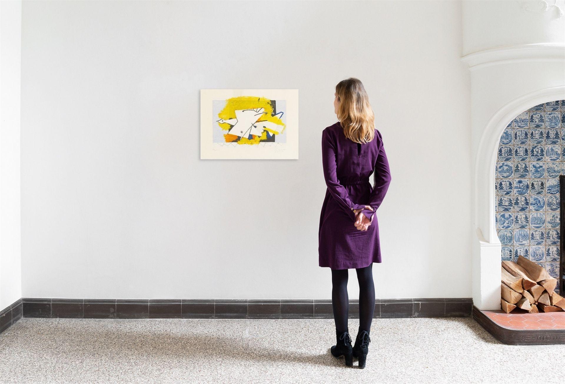 "Georges Braque. ""L'oiseau jaune"". 1959 - Image 3 of 3"
