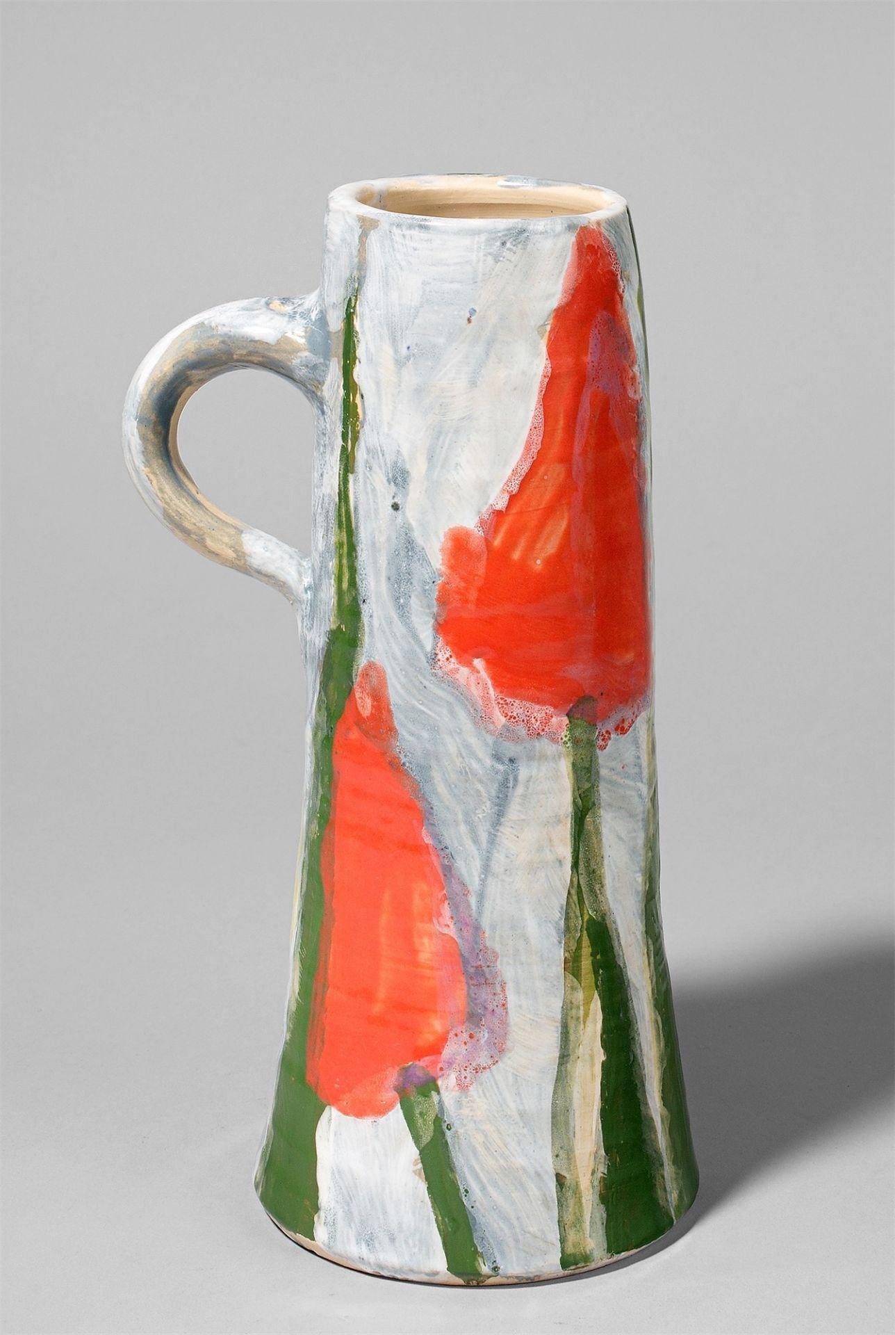 """Klaus Fußmann. """"Tulpen"""". 2009 - Image 2 of 2"""