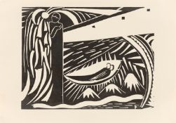 """Otto Freundlich. """"Figürliche Komposition"""". Circa 1918"""